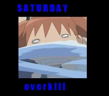 Azu Calender - Saturday