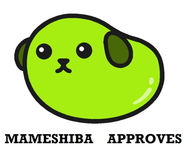 Mameshiba Approves